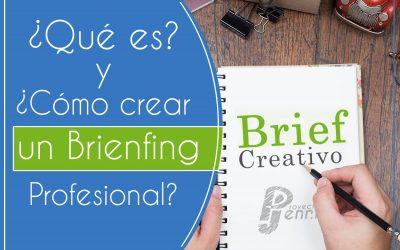 ¿Qué es y cómo se hace un Briefing o Brief creativo?